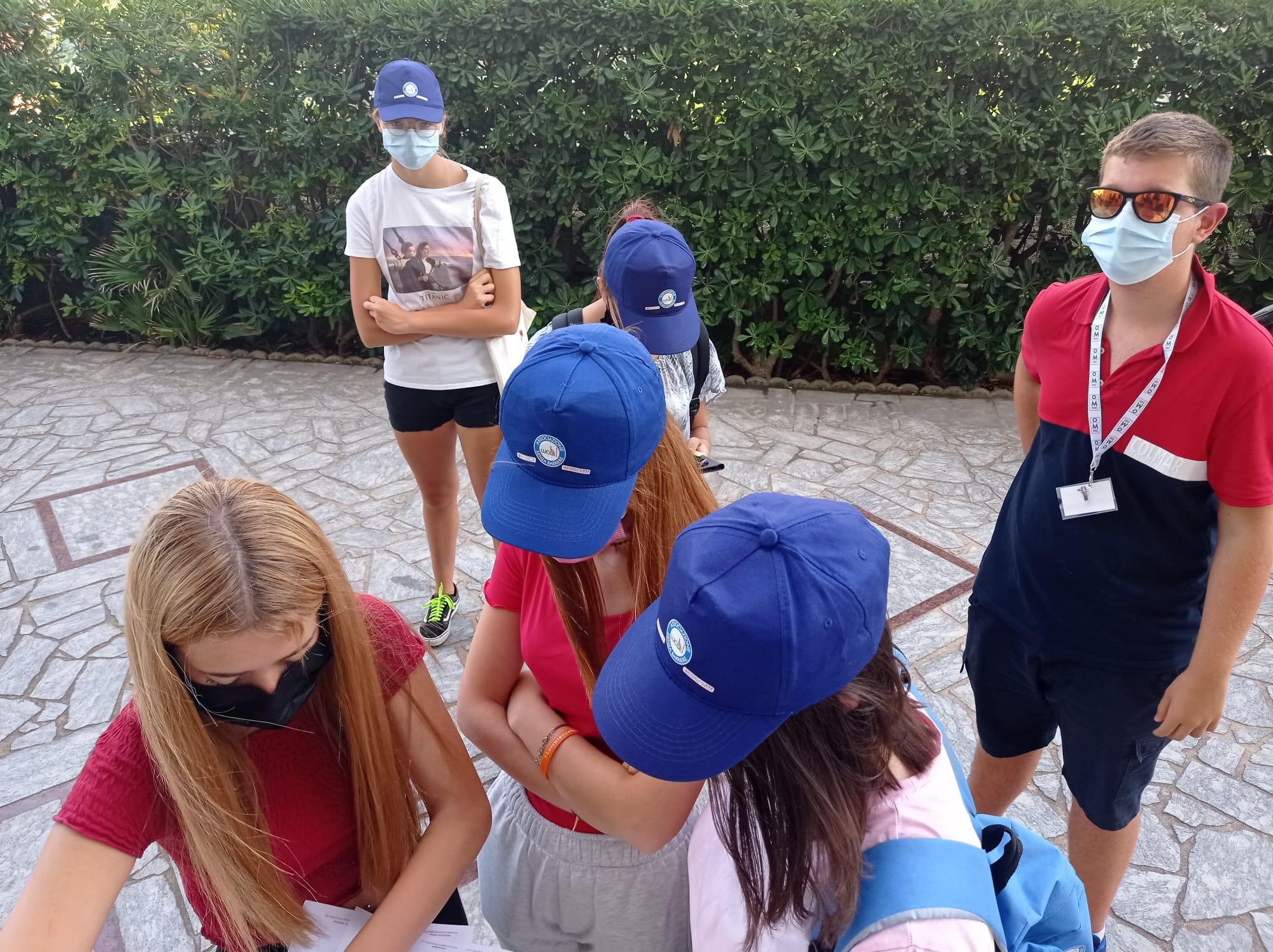 Studenti durante le mappature